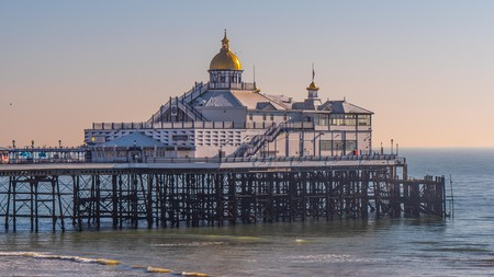 Eastbourne Pier is a great place to spend your first morning by the seaside