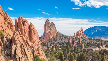 Garden of the Gods is one of Colorado Springs' most well-known parks