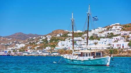 Mykonos is known for its fantastic nightlife and cosmopolitan atmosphere