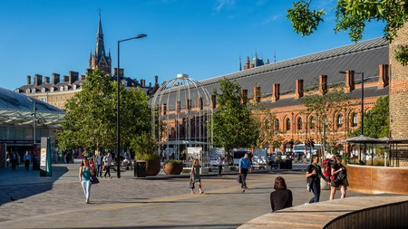King's Cross boasts some of the best cafes in London