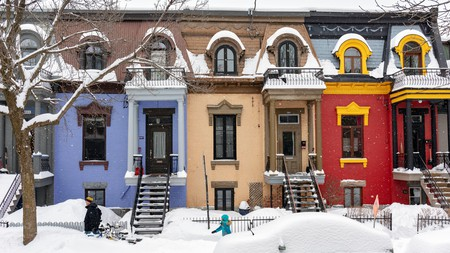 Plateau Mont-Royal is a vibrant part of Montreal, even in winter