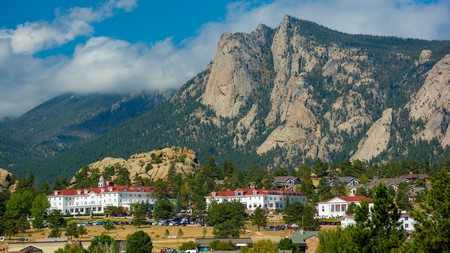 The Stanley Hotel in Estes Park was the inspiration behind Stephen King horror novel 'The Shining'