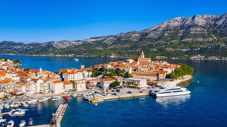 Croatia's Korčula Island attracts visitors with its pretty towns, idyllic coves and its fresh Dalmatian cuisine