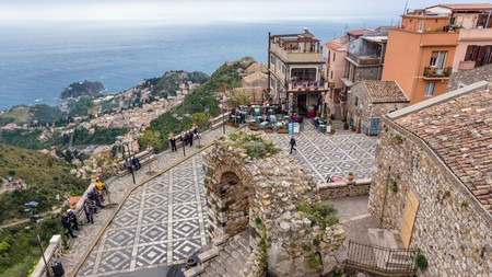 Castelmola offers breathtakingly beautiful views of Sicily and beyond