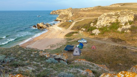 Wild camping in is an amazing way to explore Scotland's beauty
