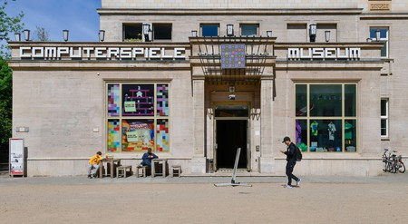 The entrance to the Computerspielemuseum in Berlin