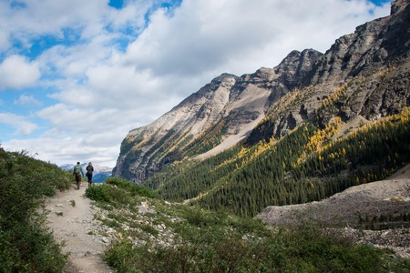 There's an abundance of trails worth exploring in Banff and the environs