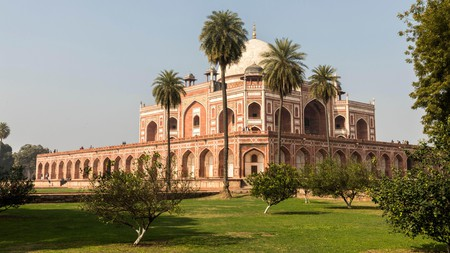 It's essential to visit the Tomb of Humayun, second emperor of the Mughal Empire, during your tip to Delhi