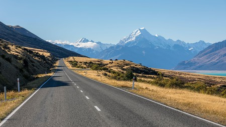 Taking a scenic drive is one of many things to do in and around Aoraki/Mount Cook National Park