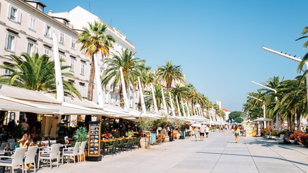 Split exudes a party atmosphere in high summer