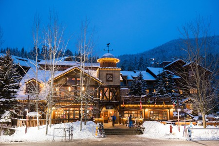 Dusty's is one of Whistler's top bars, perfect for a drink or two after a day of skiing or mountain biking