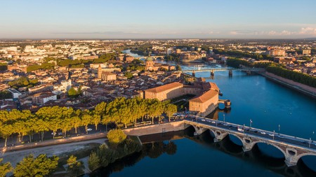 Picturesque Toulouse, in France's Occitanie region, is a great destination for art lovers