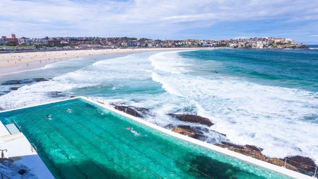 Bondi Beach is one of the most famous beaches in the world