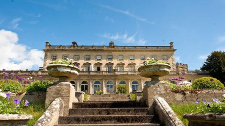Cowley Manor has beautiful gardens and a relaxing spa