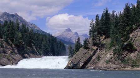 Banff National Park is synonymous with mountain peaks and waterfalls
