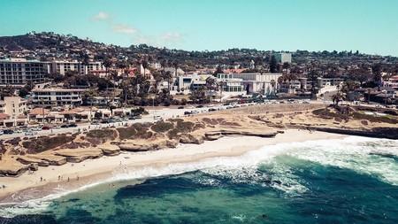 Soak up the glorious Californian weather at San Diego's La Jolla beach