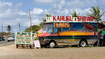 Get some great fast food in North Shore Oahu, Hawaii