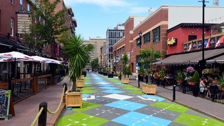 Argyle Street in Halifax, Nova Scotia
