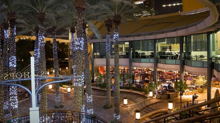Enjoy a mood-lit dining experience at Arizona Center, in downtown Phoenix