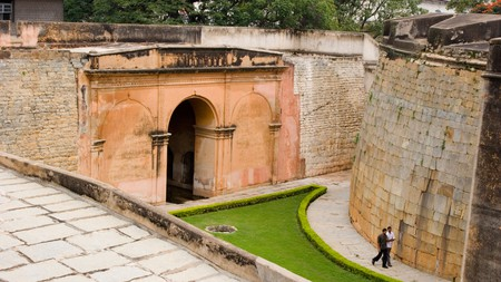 Bangalore Fort is where the city's foundation was laid