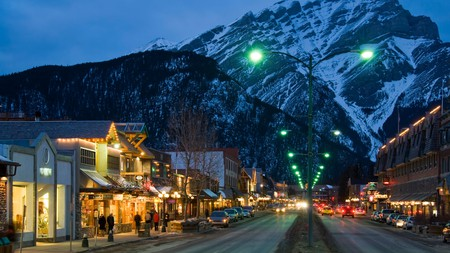 There are plenty of options for an evening out in Banff