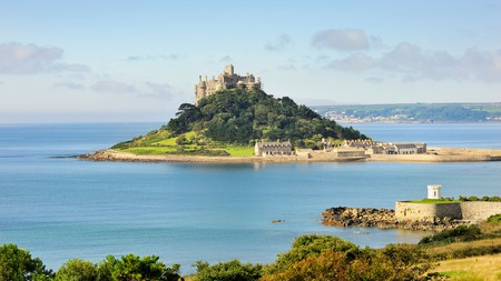 St Michael's Mount is one of Cornwall's most visited landmarks