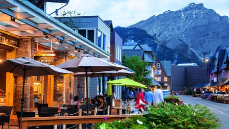 The Bear Street Tavern is the place to go for pizza and beer in Banff