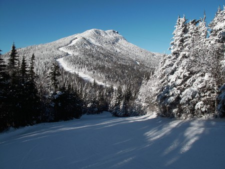 Ski slope, Jay Peak, Vermont