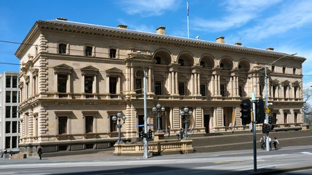 Old Treasury Building, Spring Street, Melbourne, Victoria.