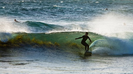Margaret River hosts the World Surf League each year