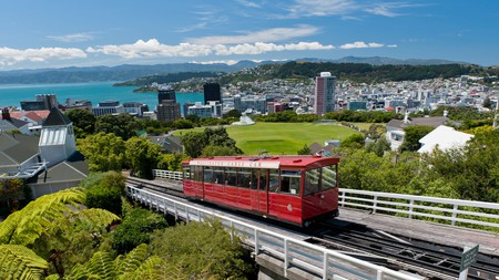 Take a ride on the Wellington Cable Car Funicular Railway