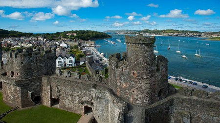 Conwy Castle is one of the top things to see in Wales