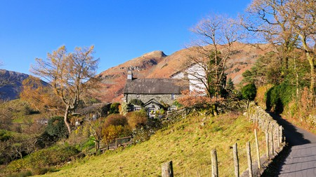 The Lake District offers idyllic accommodation in beautiful settings, such as this traditional cottage in Langdale Valley