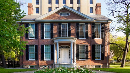 Campbell House is a Palladian-style historic home in Toronto that is now used as a museum