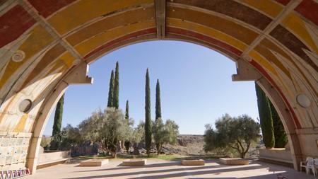 Arcosanti is an experimental town in the desert of Arizona, USA