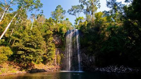 Go for a dip at Millaa Millaa Falls, near Cairns