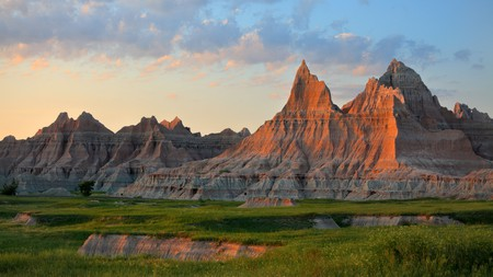 Badlands National Park in South Dakota is by far one of the top places to see in the Midwest