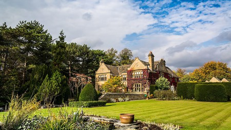 Fischer's Baslow Hall is a beautiful manor house with 11 guest rooms