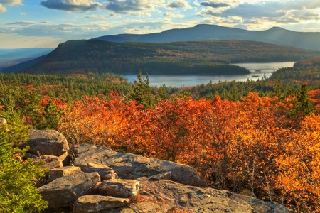 Switch off from modern life completely by staying in the beautiful Catskills, New York