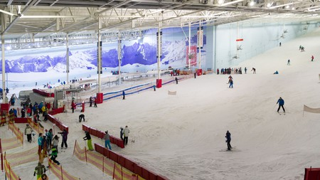 Why not try indoor skiing in Manchester?