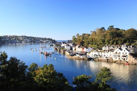 Fowey is a charming Cornish town
