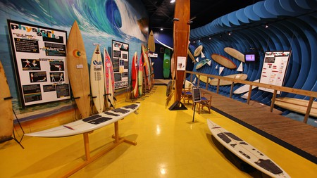 The Australian National Surfing Museum is a must-visit for any surfing enthusiast