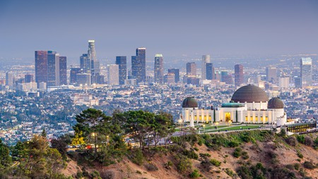 Enjoy unparalleled views of LA from Griffith Park