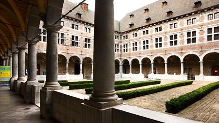 Musée de la Vie Wallone sits inside a former monastery