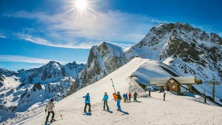 Pyrenees is a quiet, beautiful ski destination