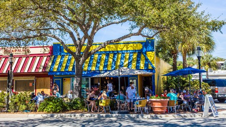 The food scene in Sarasota, Florida, has a laid-back, but sophisticated, feel