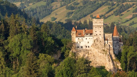 Bran Castle in Transylvania claims to be the inspiration behind 'Dracula'