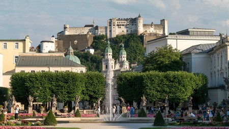 The picturesque Austrian town of Salzburg offers plenty for both culture and nature lovers