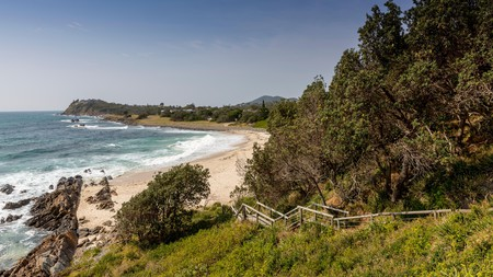 Pebbly Beach is a must-visit beach in New South Wales