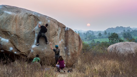 Adrenaline junkies will find plenty in India to feed their thrill-seeking souls, including rock climbing in Hampi